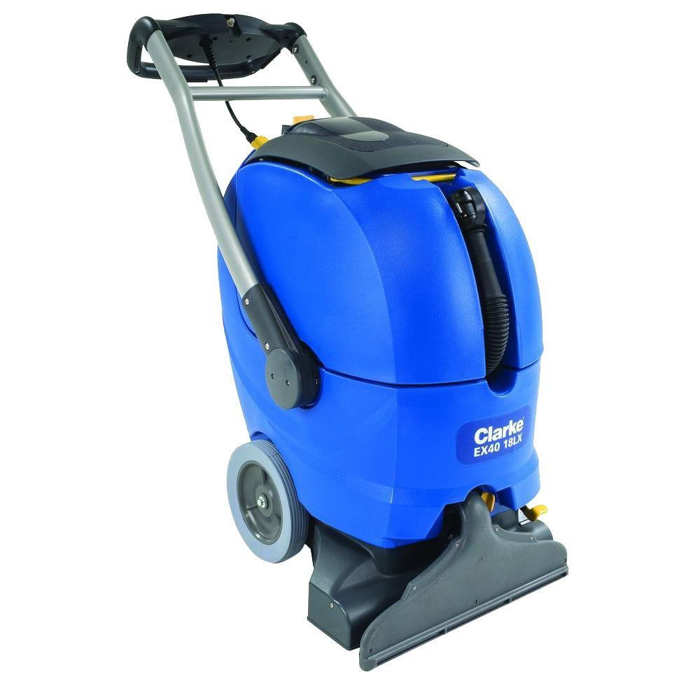 Clarke Ex40 18lx Self Contained Upright Carpet Cleaner 56265505 The Home Depot Carpet Cleaners Improve Indoor Air Quality Cleaners