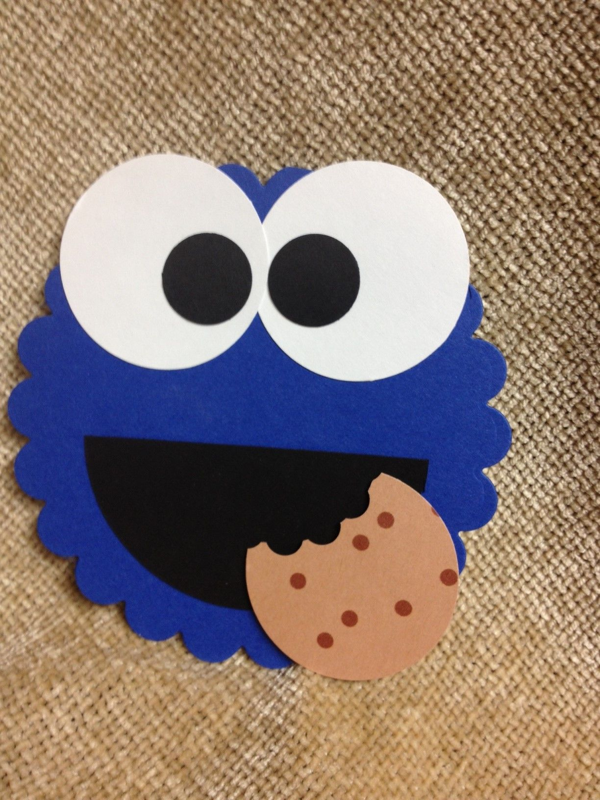 Pin By Anna Mckay On Cards That I Ve Made Kids Birthday Cards Monster Cookies Monster Cards
