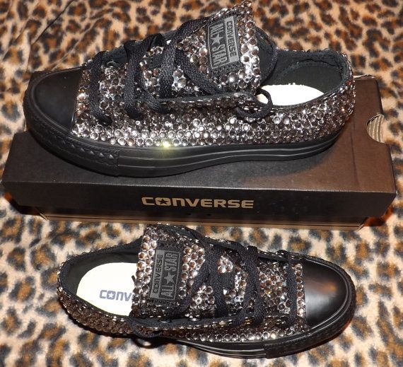 Crystal Ox All Star Converse Sparkly Luxury by ...