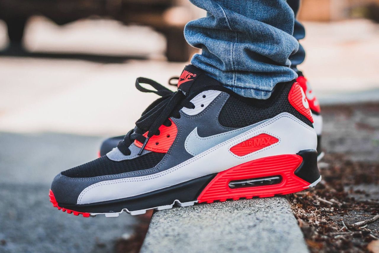 Nike Air Max 90 Reverse Infrared (by @tonydiamonds) | Nike