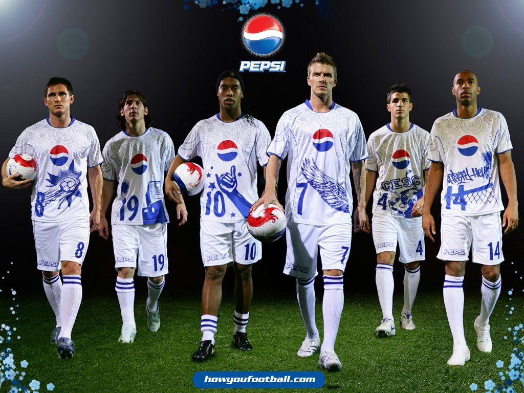Football Wallpaper At Rs 100 Square Feet: Soccer, Pepsi, Football