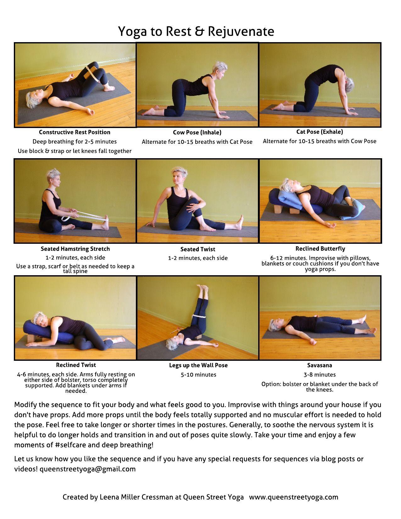 Restorative Yoga Poses For Hamstrings