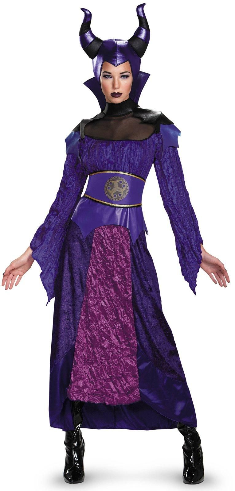 Disney's Descendants: Deluxe Maleficent Costume For Women ...