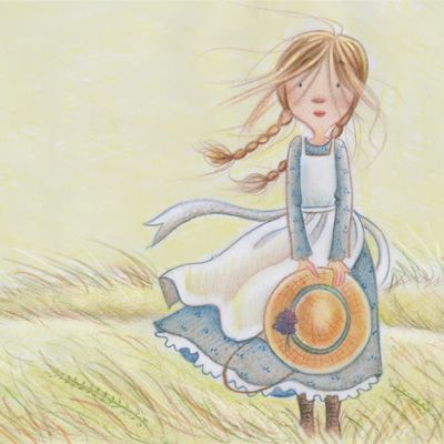 Prairie Girl By Laura Logan Children S Book Illustration
