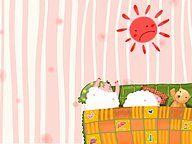 Sweet Children's Illustration : Good Morning 3 - Sweet illustration for children's book