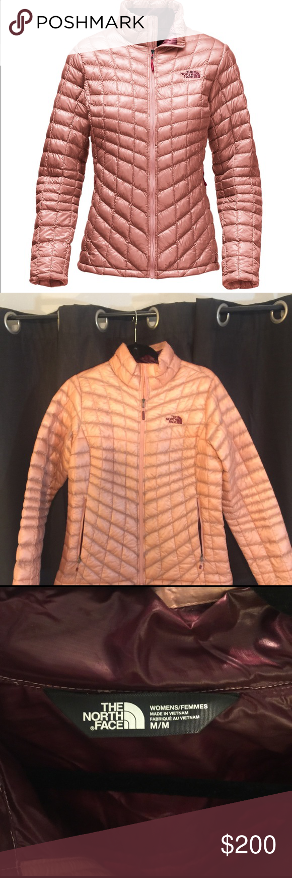 Women S The North Face Thermoball Jacket North Face Thermoball Jacket Jackets Rose Gold Jacket [ 1740 x 580 Pixel ]