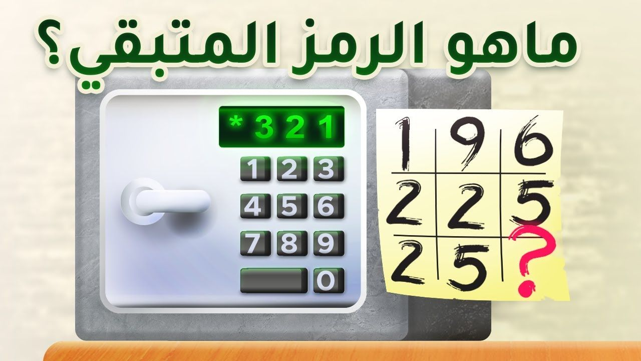 ماهو الرمز ألغاز محققين صعبة للعباقرة وأذكى الأذكياء Electronic Products Electronics Calculator
