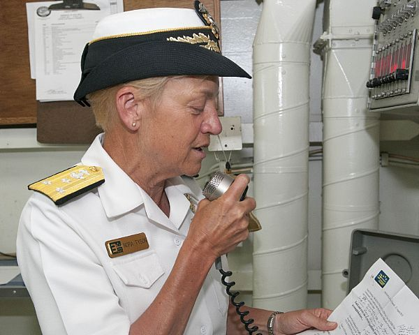 Vice Adm Nora Tyson, commander of US 3rd Fleet, addresses the - surface warfare officer sample resume
