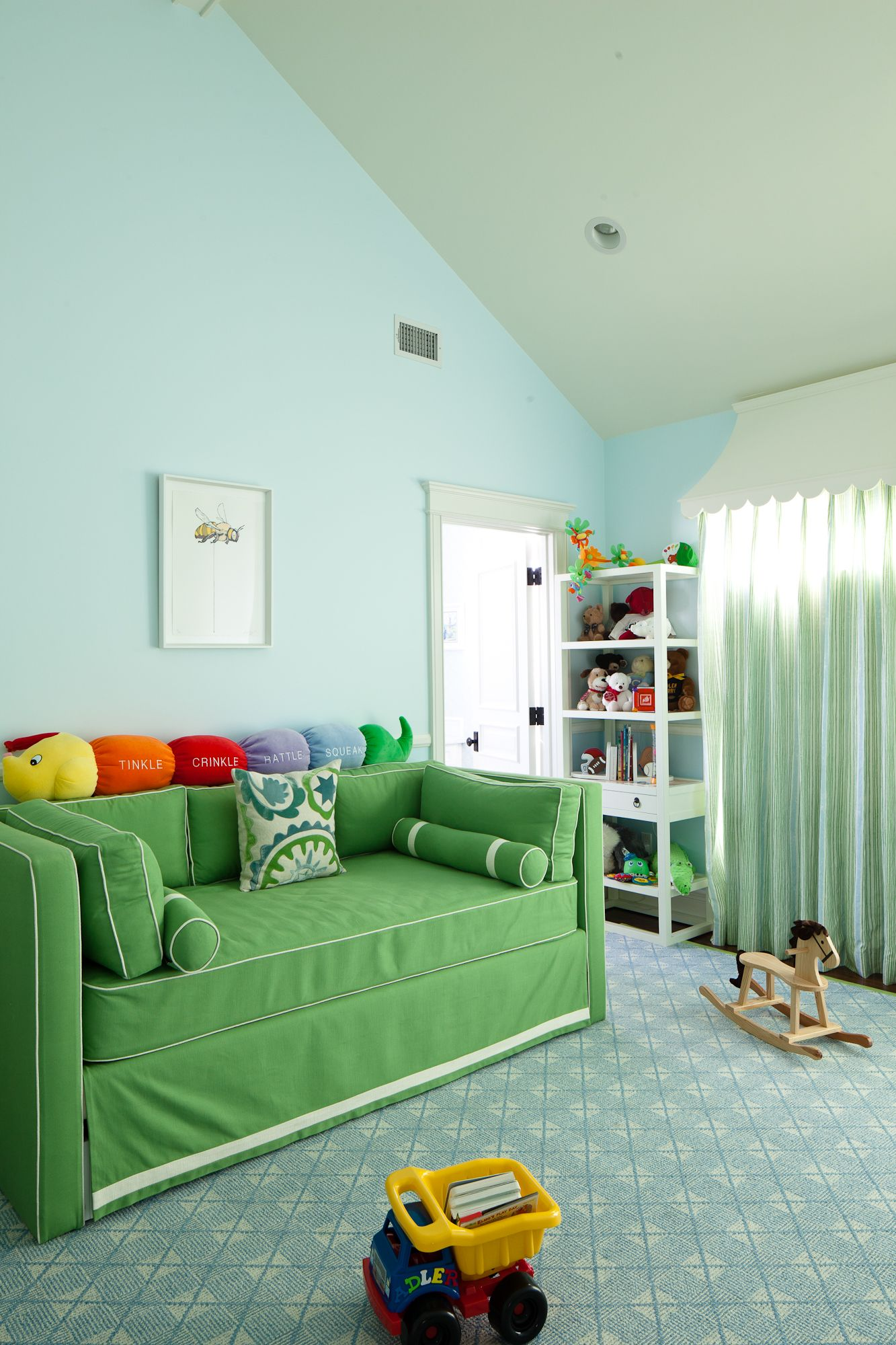 Upholstered Daybeds Room Interior Kids Room