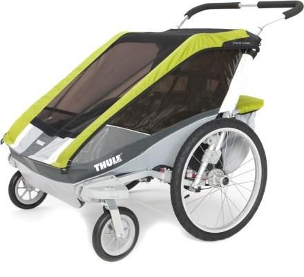 Chariot Cougar 2 Stroller With Strolling Kit Baby Gear Double Strollers Jogging Stroller Baby Strollers