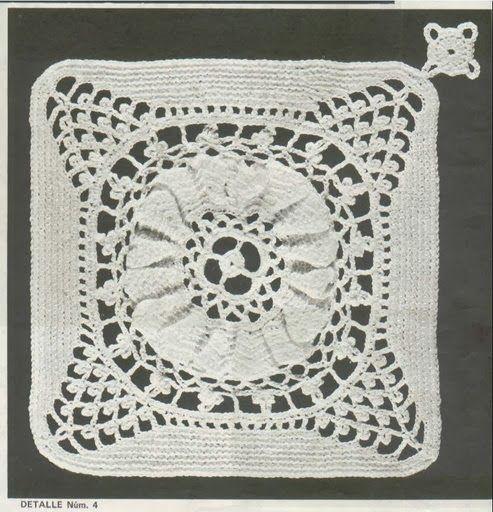 Crochet: Bedspread | dantel yatak örtüsü | Pinterest