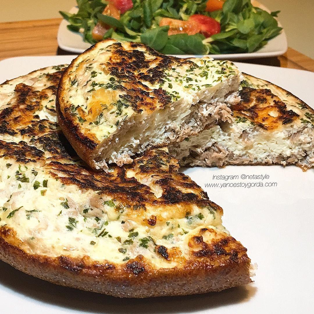 Las mejores recetas saludables y la mejor cocina fitness la encontrarás aquí. Hoy Tortilla de claras y atún ¡Te va a encantar!