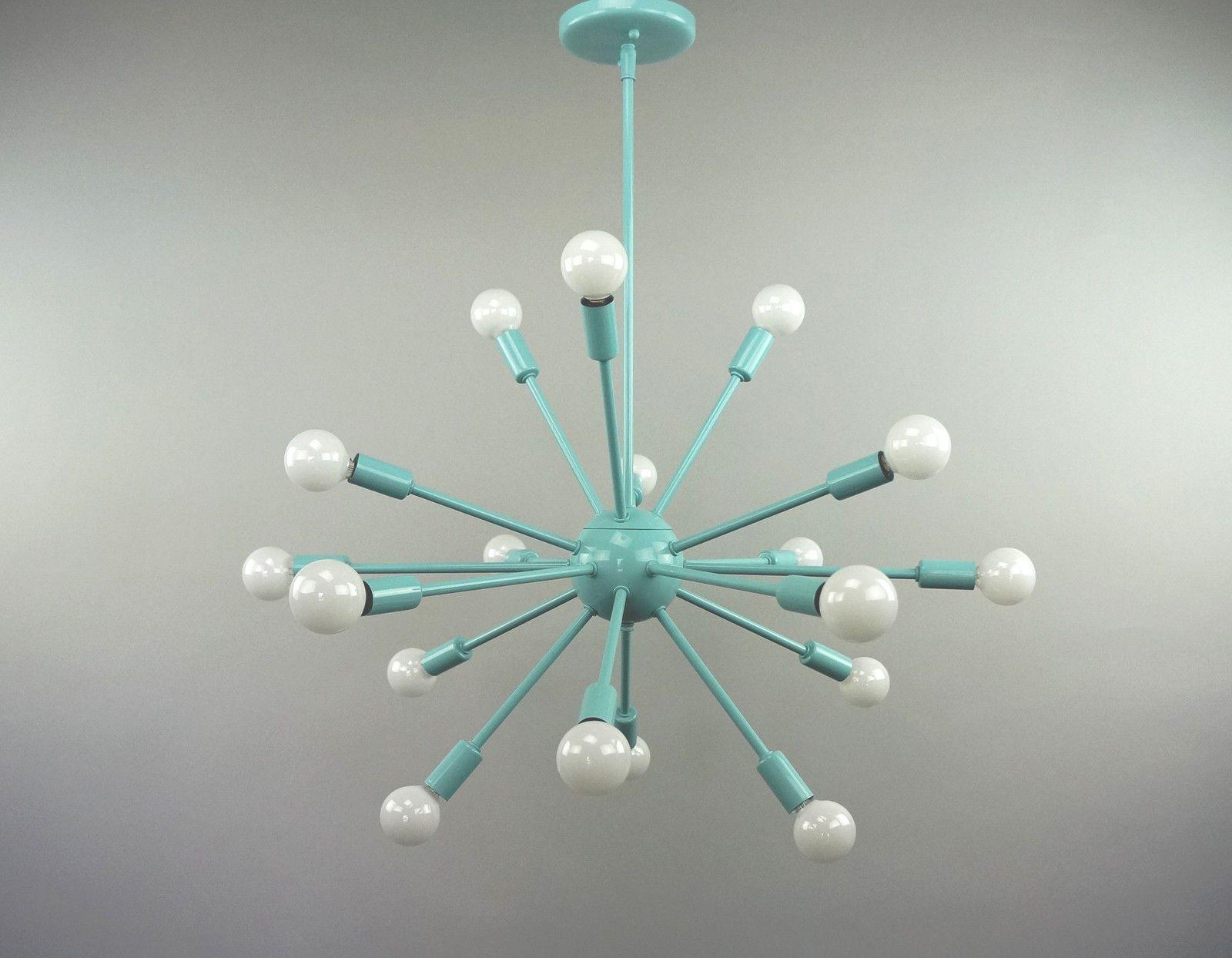 Sputnik Atomic Lamp Light Chandelier Pendant Starburst Mid Century