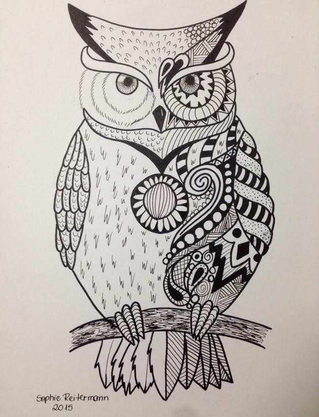 Owl Line Drawing Tattoo : Owl by soreit viantart on deviantart drawings