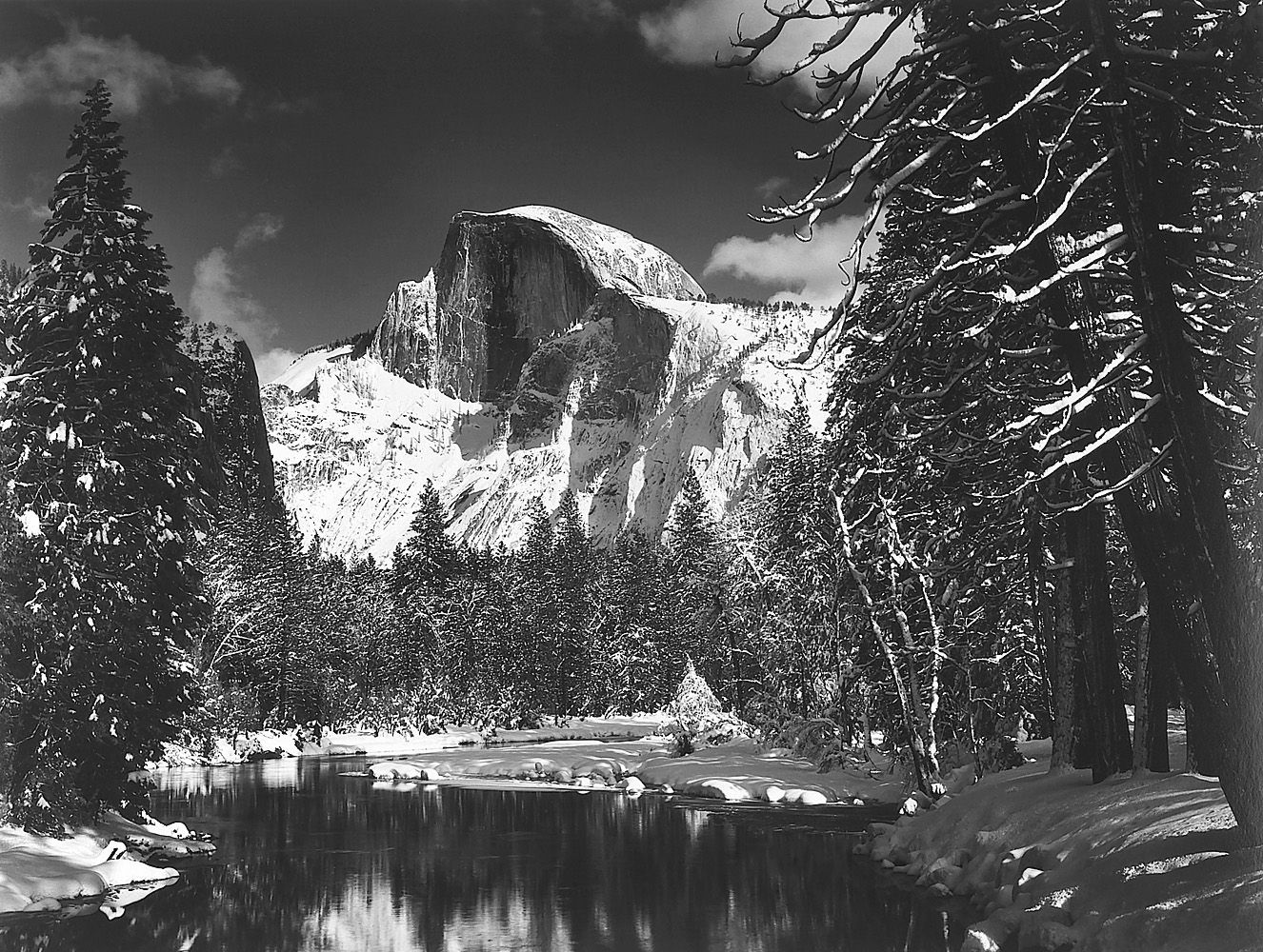 Half Dome, Yosemite National Park (1938) by Ansel Adams | Picture ...