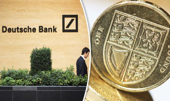 The Pound Is Irrelevant German Financial Giant Deutsche Bank In Shocking Sterling Swipe Auto Blog Global