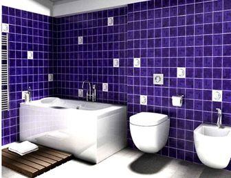 Pin de arquitectura y dise o arquitexs magazine en ba os modernos modern bathrooms ba os - Banos azulejos pintados ...