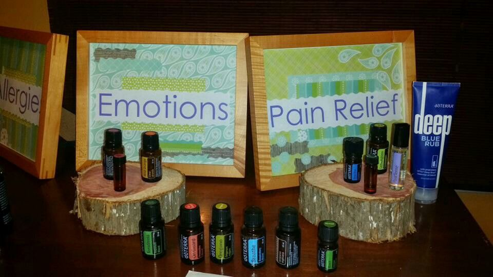 Doterra Booth Basic Way To Display The Oils