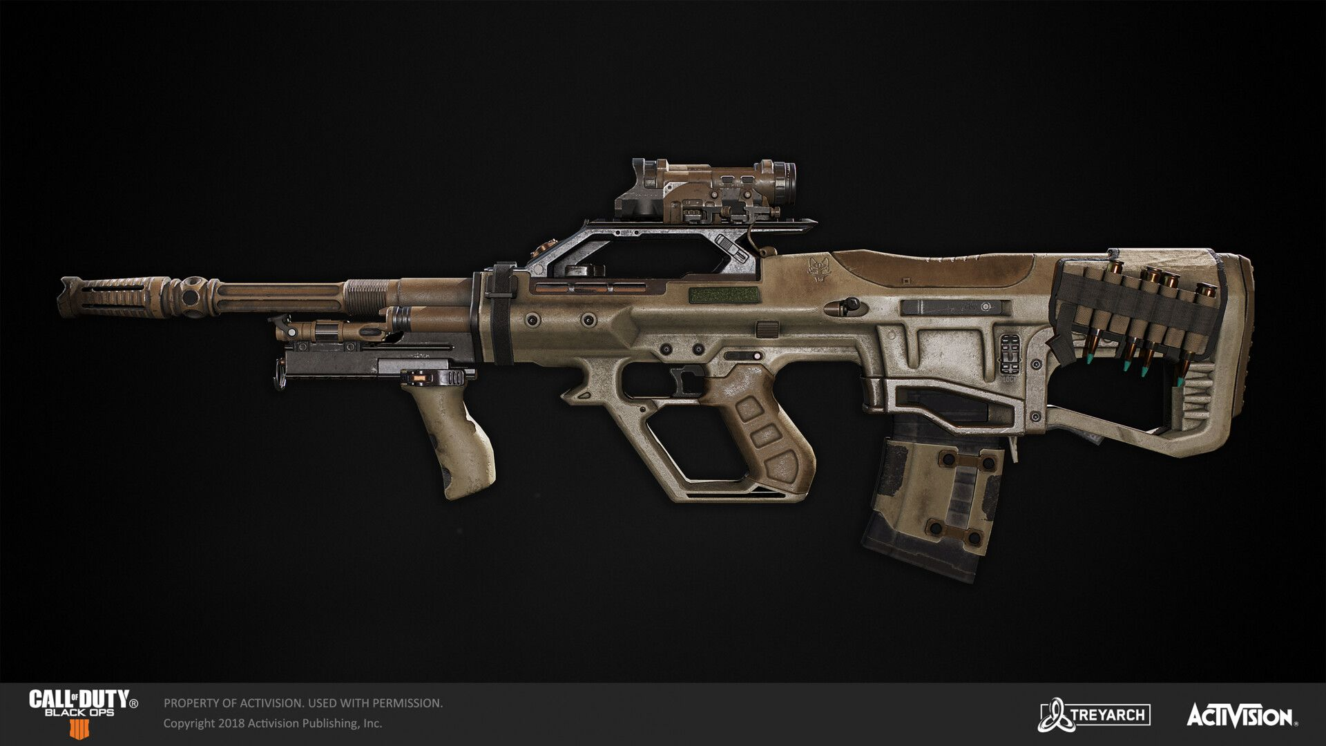 Artstation Call Of Duty Black Ops 4 Abr 223 Peter