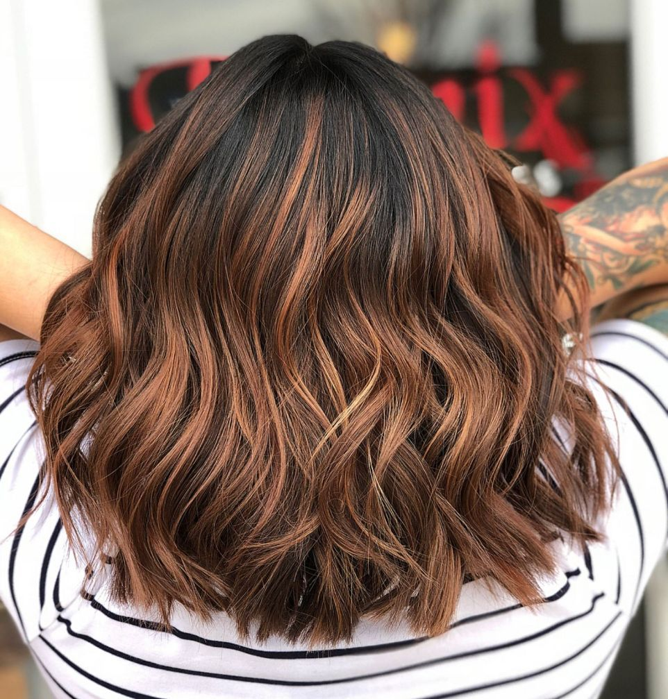 60 Looks With Caramel Highlights On Brown And Dark Brown Hair In 2020 Brown Hair Trends Cinnamon Brown Hair Cinnamon Brown Hair Color
