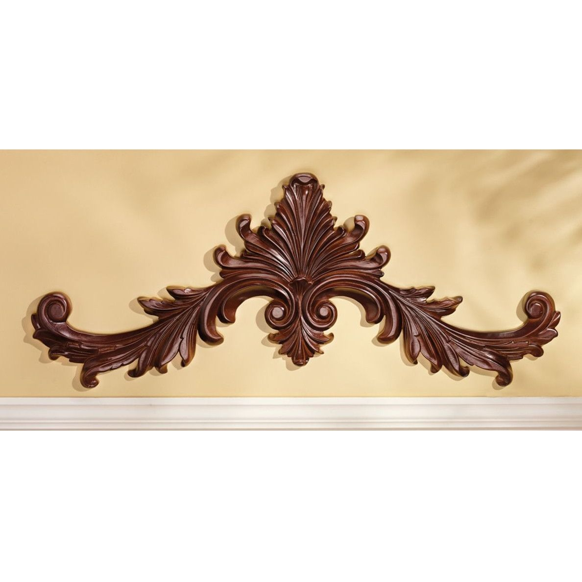 Design Toscano Baroque Architectural Pediment Wall Décor | Art ...