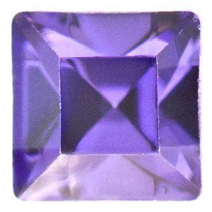 4428 3mm Tanzanite Swarovski Elements Crystal Xilion Square Stone | Fusion Beads #inspirationinbloom