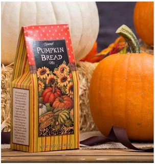 Autumn Harvest Pumpkin Bread Mix: Remember grandma's pumpkin bread and how it made the whole house smell so wonderful? Now you can bake up your own incredible pumpkin bread memories with this yummy Autumn Harvest Pumpkin Bread Mix. Order now for only $12.09 + shipping fee. Visit https://www.sendoutcards.com/wowgreatcards/ for more gifts.