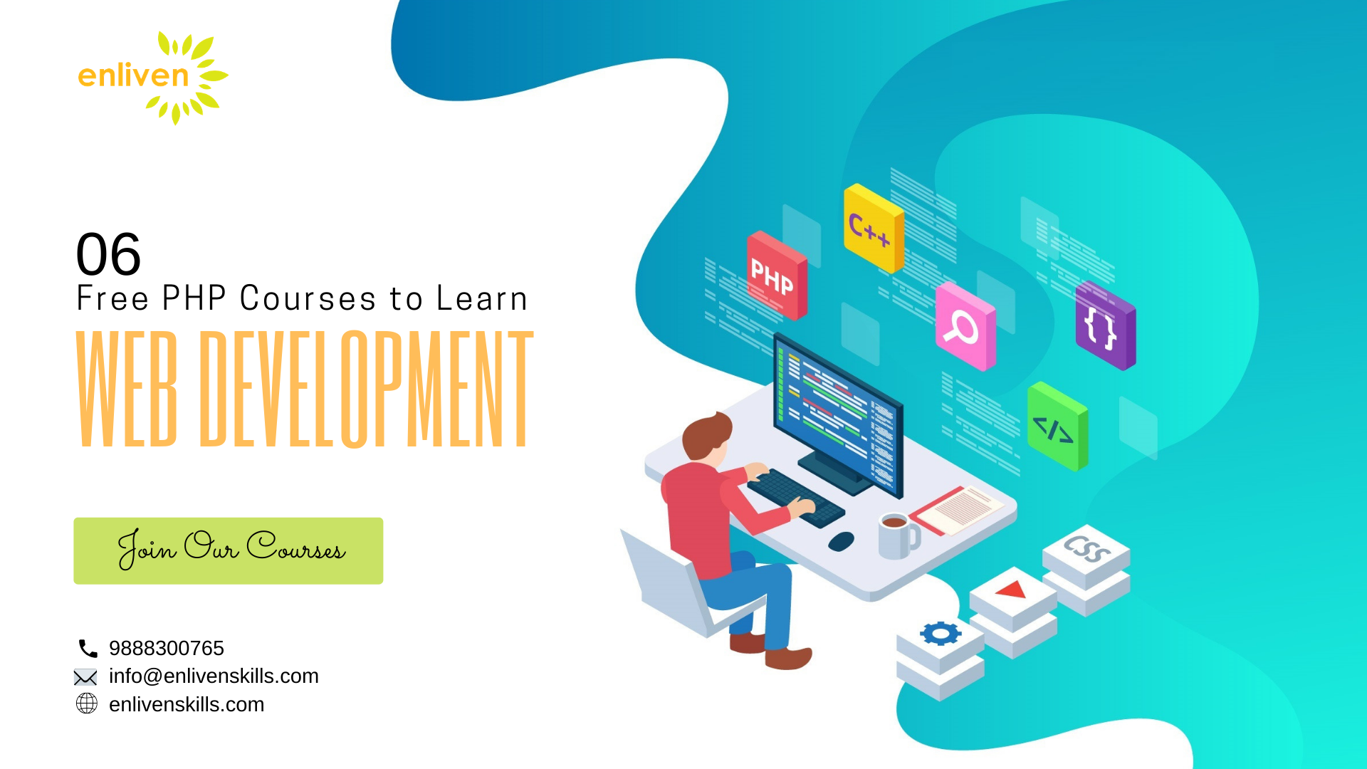 6 Free Php Courses To Learn Web Development Learn Web Development Web Development Learning Web