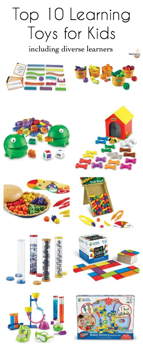 10 Top Learning Toys For Kids Including Diverse Learners Learning Toys For Toddlers Educational Toys For Preschoolers Preschool Toys