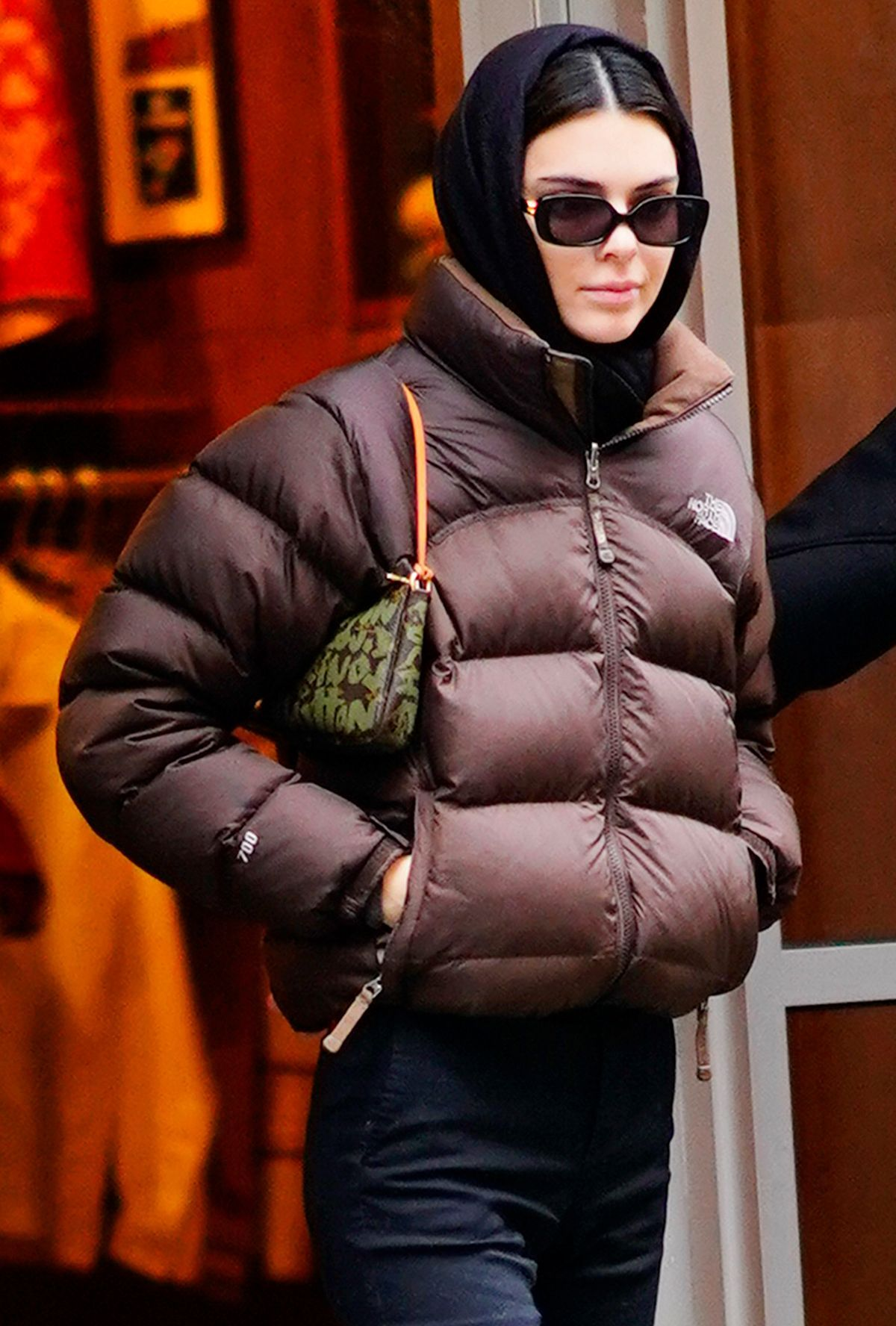 5 Old School It Bags Kendall J Lo And More Are Bringing Into The Next Decade Fashion North Face Puffer Jacket Kendall Jenner Outfits North Face Jacket [ 1776 x 1200 Pixel ]