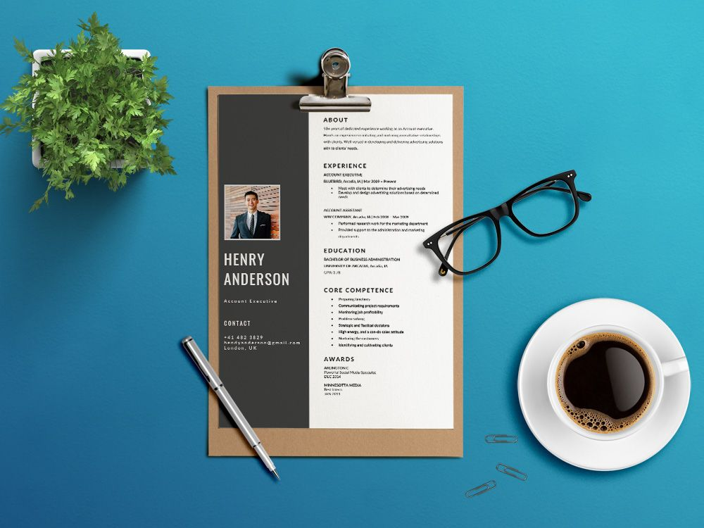 Free Account Executive Resume Template in Word File Format