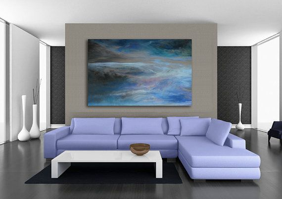 Marianne abstract art canvas giclee print of original pastel painting by kauai hawaii artist donia lilly http etsy com shop donialillyfineart