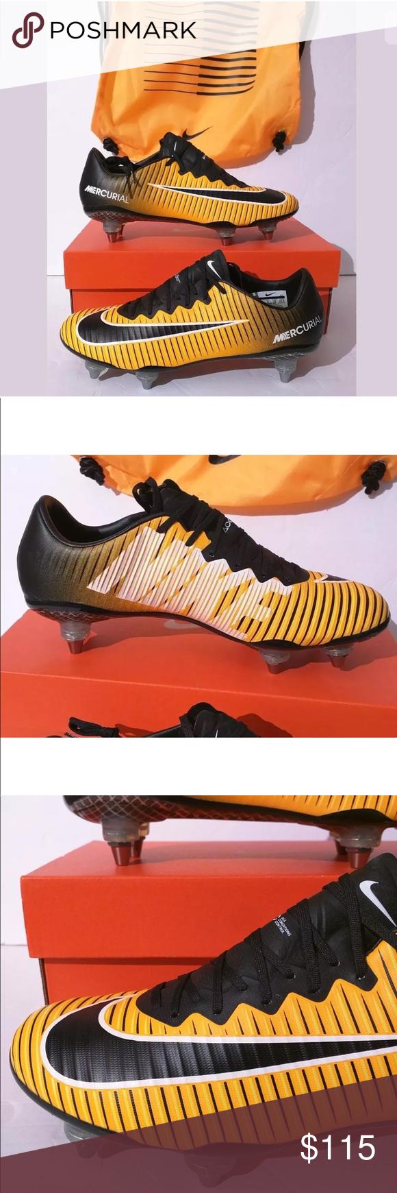 Black White · Model · Orange · Nike Mercurial Vapor XI SG Promo Soccer  ShoeCleats New Nike Mercurial Vapor XI SG Promo Made 45682d030f7