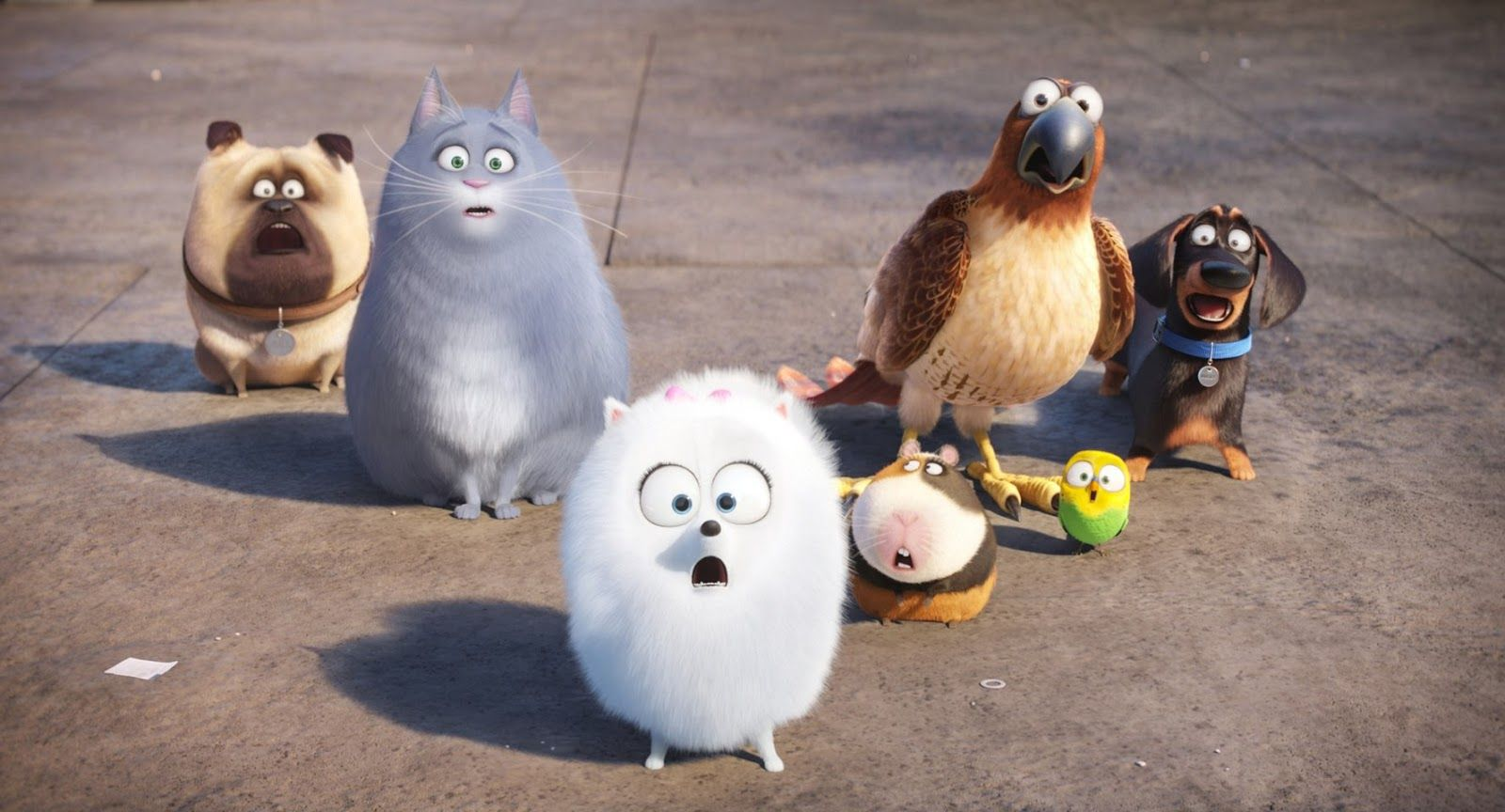 The Secret Life Of Pets New Trailers 14 Pictures And 9 Posters Secret Life Of Pets Pets Movie Pet Trailer