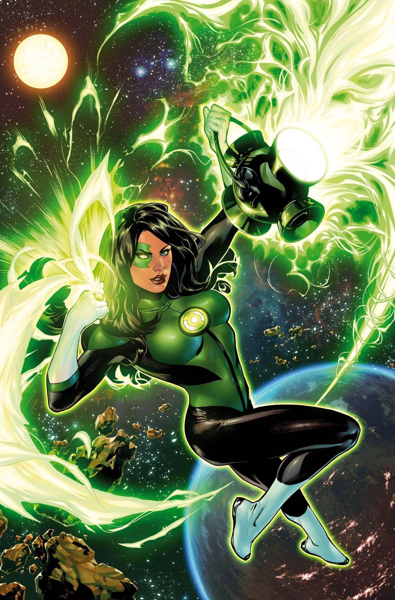 Green Lantern 2 By Emanuela Lupacchino
