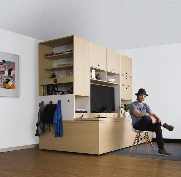 Ori Systems\' robotic furniture system transforms apartment ...