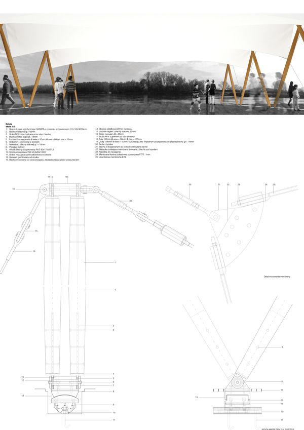 Water Tram Station Roof By Marek Wojda Via Behance Water Station Roof Water