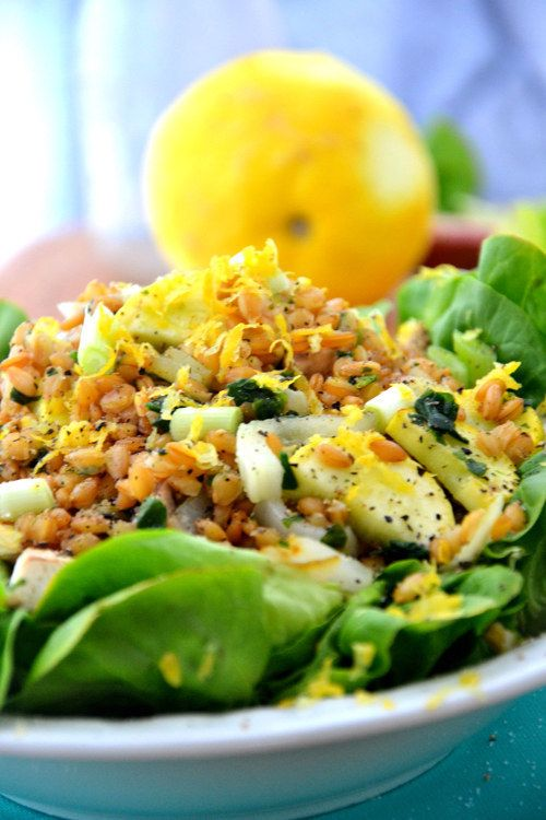Chia Teff Salad with Lemon Scallion Dressing | 22 Exciting Ways To Cook With Chia Seeds