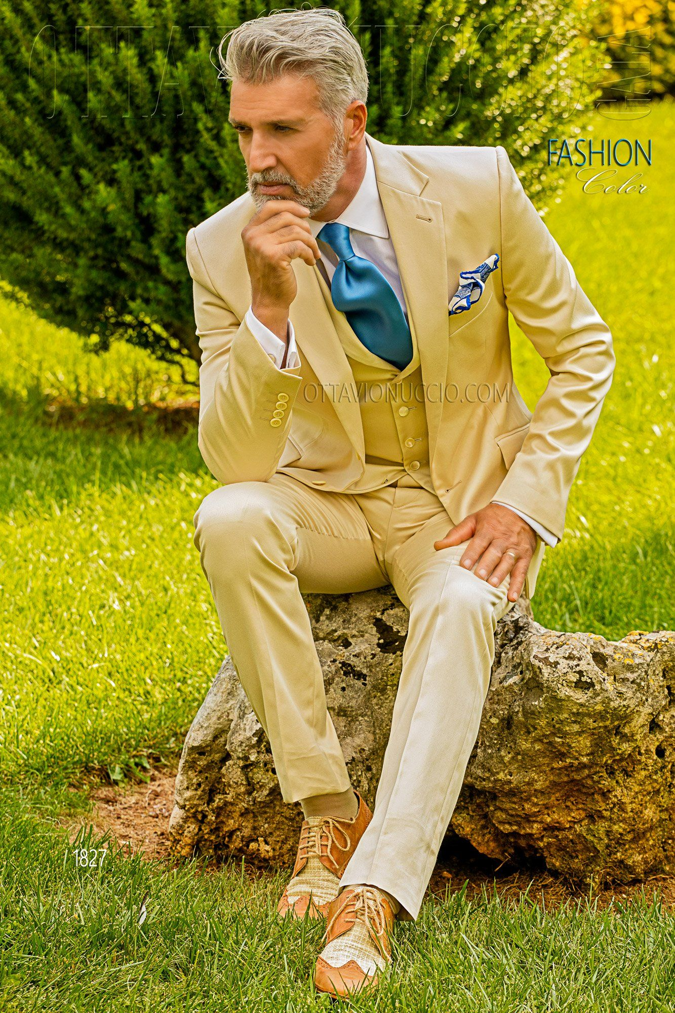 Ivory Hipster Groom Suit In Pure Cotton Hipster Mens Fashion