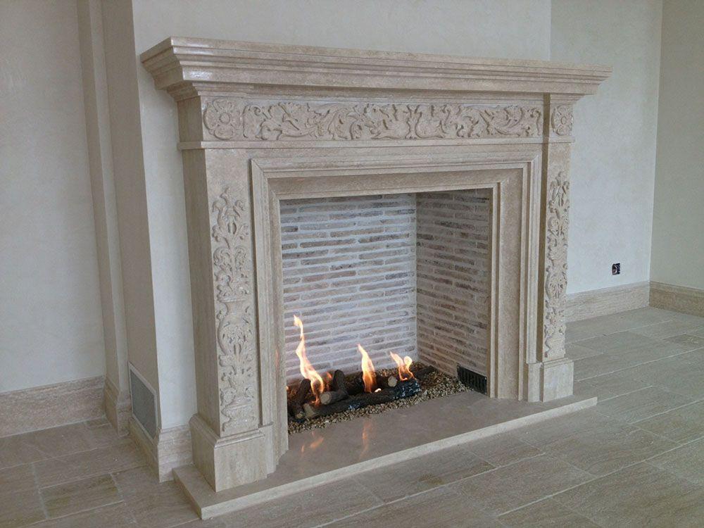 Home Foyer De La Côte Corcelles : Belle cheminée classique en marbre créée par atry home