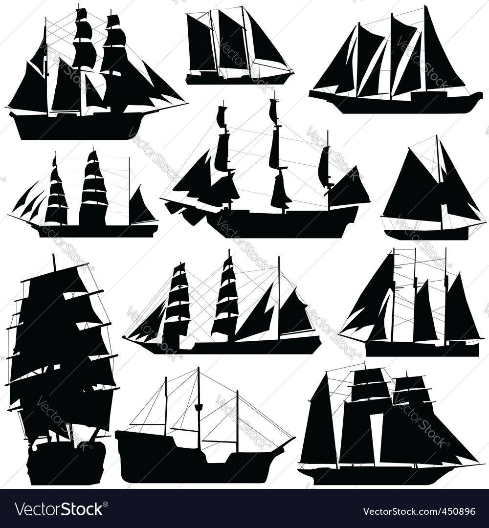 Old ship vector image on Σκίτσα, Πυρογραφία