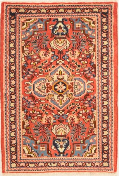 """Hamadan Woven: Hand Knotted Size: 2'6"""" x 3'9"""""""