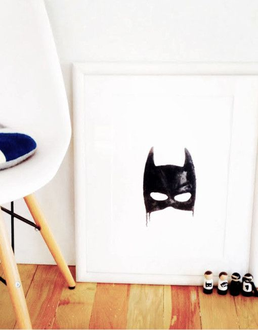Little Pop Studio The Bat Art Print Framed Beetlesandbugs Encontrado