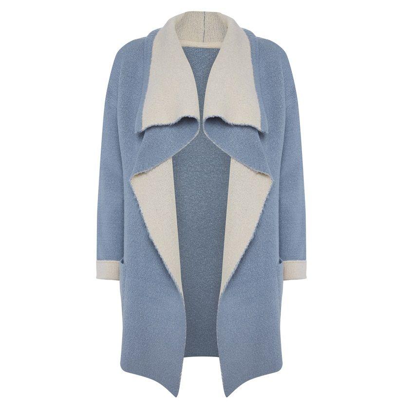 Primark - Light blue waterfall cardigan | Primark | Pinterest ...