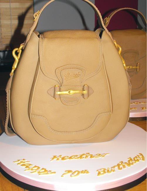 Gucci Purse Cakes Handbag Cake Clothing Shoe