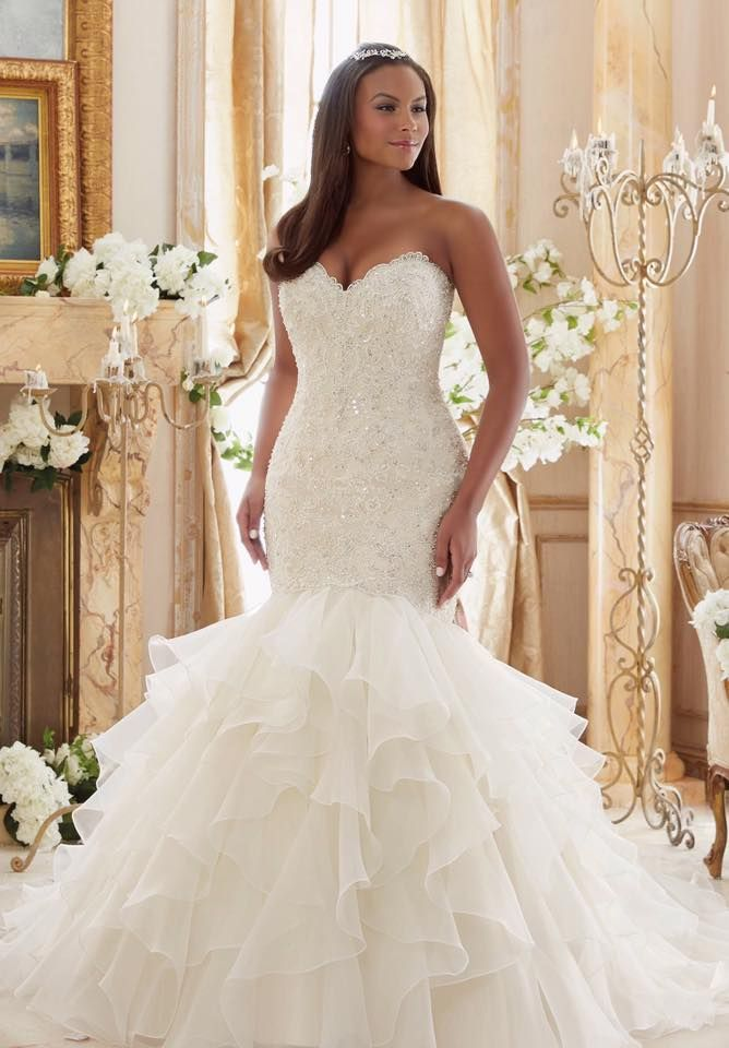 64 Super Gorgeous Plus-Size Wedding Dresses To Flatter You Best On ...