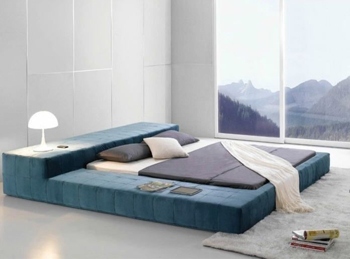 Opaq Contemporary Bed Frame Modern Bedroom Furniture This Opaq