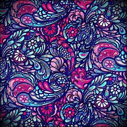 Pattern - Color - Colour - Pink - Purple - Blue - Navy ...