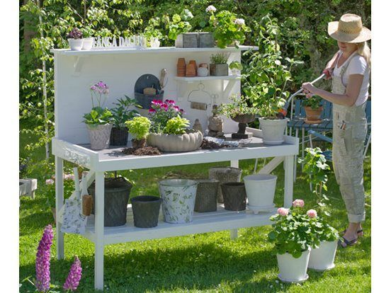 50 Best Potting Bench Ideas To Beautify Your Garden Artsy Potting