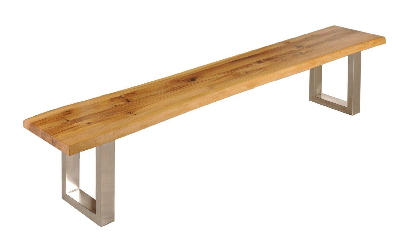 Sitzbank Ohne Lehne Eiche | Gartenbank Design-Idee | Pinterest